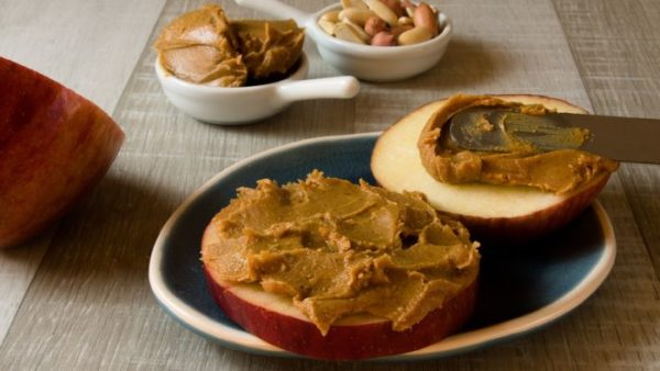 Fatty Liver Snacks - Peanut butter apple