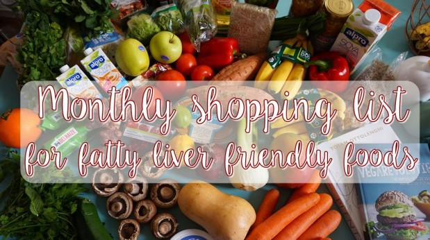 monthly shopping list for fatty liver reversal healthy foods to
