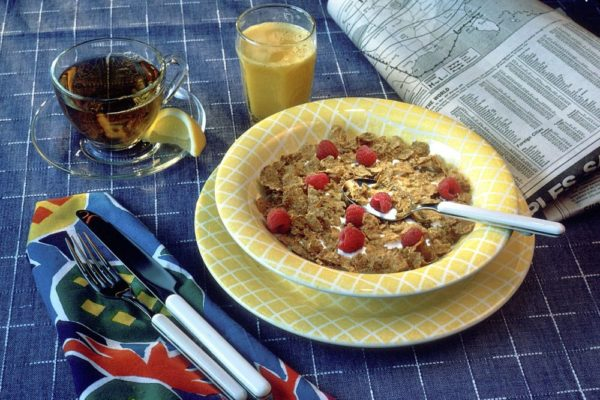 Healthy cereals for fatty liver