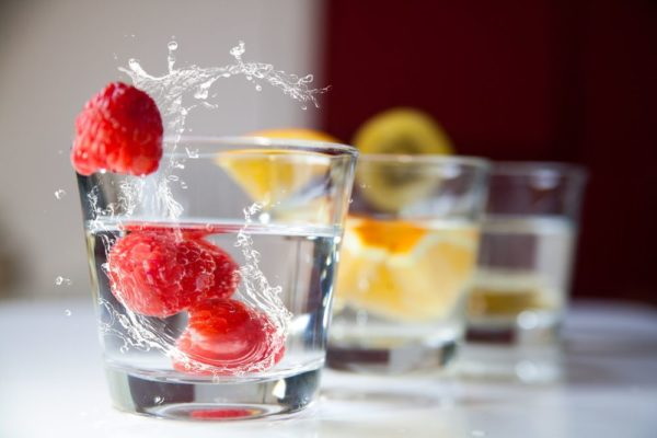 flavored water for fatty liver